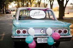 10 modi per decorare la macchina degli sposi - Donnaclick