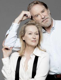 Meryl Streep & Kevin Kline    Ricki and the Flash Promotional Photoshoot - 2015