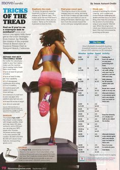 Tricks of the Tread #healthy #fitness #workout #exercises