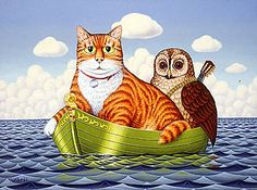 • Artistry International, Inc. • The Owl and the Pussycat by Fred Aris