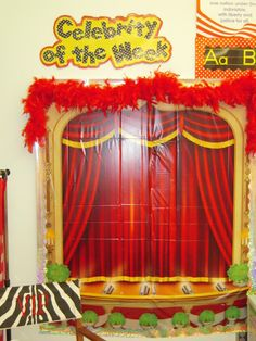To go with the Hollywood Star Classroom Theme...Celebrity of the Week