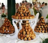 Profiterole mountain!