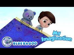 My Imagination | Creativity Song | by Blue Bagoo – Kids Songs