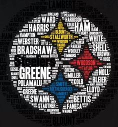 Steelers greats T-shirt Pittsburgh Steelers Pittsburgh Steelers Wallpaper, Pittsburgh Steelers Football, Pittsburgh Sports, Dallas Cowboys, Pittsburgh Penguins, Football Team, Steelers Meme, Steelers T Shirts, Steelers Stuff