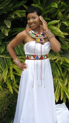 Maasai Masai Queen/Princess/Bridal Jewelry Set by TheMaasaiShop Kenyan Wedding, African Wedding Attire, African Attire, African Wear, African Weddings, African Print Dresses, African Fashion Dresses, African Dress, African Prints