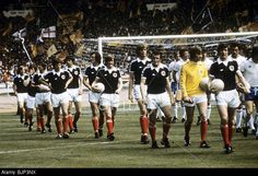 04/06/77 International Friendly England V Scotland (1-2) Wembley Stock Photo, Picture And Royalty Free Image. Pic. 28760086
