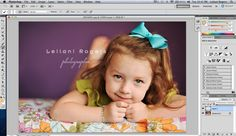 Great tutorial for watermarking your finished project photos.