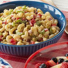 Macaroni and Pea Salad
