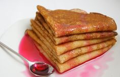 Tasty, Yummy Food, Russian Recipes, Pancakes, French Toast, Food And Drink, Meals, Breakfast, Drinks