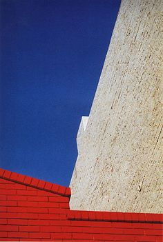 Franco Fontana. Urban landscape, New York, 1976.