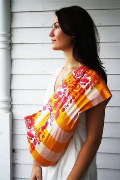 Baby sling with awesome patterns