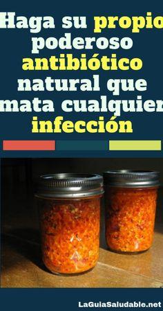 Haga su propio poderoso antibiótico natural que mata cualquier infección – La Guía Saludable The Cure, Health Fitness, Food, Medicine, Vestidos, Natural Antibiotics, Natural Remedies, Home Tips, Healthy Drinks