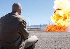 Breaking Bad Season 4 Studio Photos  Walter White (Bryan Cranston)