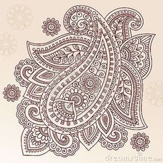 Illustration about Hand-Drawn Abstract Henna Mehndi Tattoo Flower Mandala Medallion and Paisley Doodle Designs- Vector Illustration Design Elemens. Illustration of abstract, mhendi, floral - 14265877 Paisley Doodle, Henna Doodle, Floral Doodle, Henna Art, Doodle Art, Tribal Henna, Mehndi Tattoo, Henna Tattoo Designs, Mehndi Designs