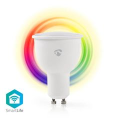 This Wireless Smart Bulb Two-Legged Fitting) allows you to control its colour and brightness remotely through your phone, tablet, PC or voice. Antenna Gain, Luminous Flux, Energy Consumption, Shades Of White, Light Colors, Light Bulb, Tech, Warm, Colour