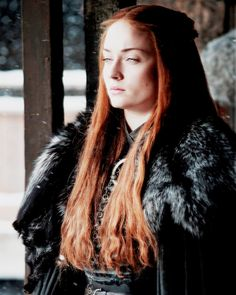 "got-source: """"Sansa Stark in Game of Thrones season 7 "" """