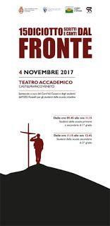 Evento di scritti e canti in collaborazione tra istituto Rosselli, Comune di Castelfranco Veneto e Coro Valcanzoi