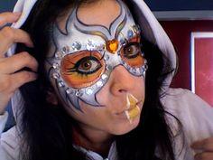 owl makeup look