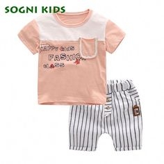 c21fb54ff887 12 Best Brand New 2019 Toddler 2pcs Set Baby Boys Summer Collections ...