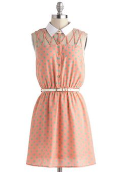 $52.99 Lattice Night Dress - Modcloth