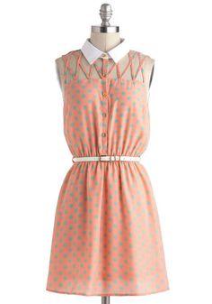 $52.99 Lattice Night Dress - Modcloth