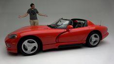 The Original 1992 Dodge Viper Was a Ridiculously Basic, Dangerous Sports... Detroit Steel, Dangerous Sports, Cars Youtube, Suv Trucks, Dodge Viper, Small Cars, Bike, The Originals, Beverly Hills