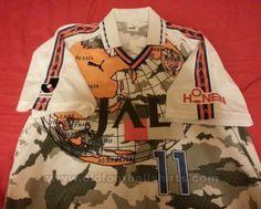 Shimizu S-Pulse Away football shirt 1996 - 1997