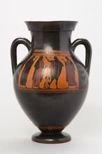 Dionysus and Ikarios | | about 540 BC |Greek