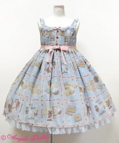 Lolibrary | Angelic Pretty - JSK - Cream Cookie Collection High Waist JSK
