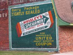 Ghostly gum | Repainted ghost sign in Clinton, Missouri. | By: jimsawthat | Flickr - Photo Sharing!