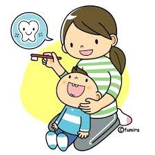 Be sure to help your little ones brush their teeth. Good dental habits start young. :)
