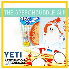 Engaging kids doesn't have to mean session prep burnout! YETI Articulation and Language is a LOW PREP resource that gives you the flexibility the engage your kids in different ways while targeting their speech and language goals.