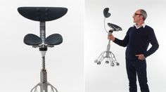 Simon Freedman and his FreedMan Chair claimed to replicate standing spine posture