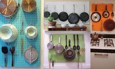 Painel de eucatex perfurado para cozinha