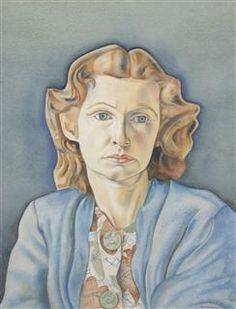 Portrait of Nina Hamnett by Roger Fry