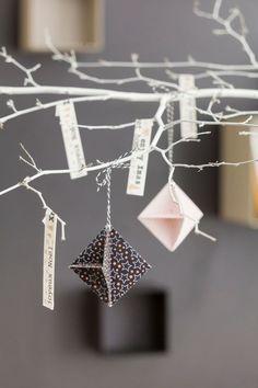 DIY | LET'S DO THIS | Origami de Noël, cultura.com #DIY #ORIGAMI