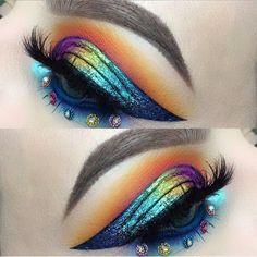 You Are The Fairest Of Them All : Photo #EyeMakeupGlitter Makeup Goals, Love Makeup, Makeup Inspo, Makeup Art, Makeup Inspiration, Makeup Ideas, Cheap Makeup, Amazing Makeup, Makeup Geek