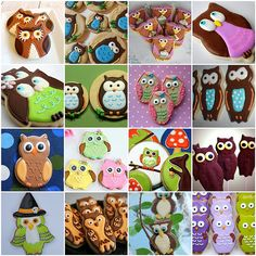Hootie Who? @Fullcircleadv's round-up of Owl Cookies
