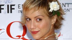 brittany murphy | Brittany Murphy Smiling Red Lips Pic Wallpaper