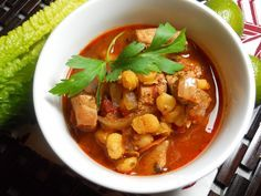 Mexican Pork Posole for the slow cooker!
