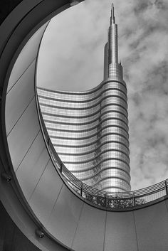 Unicredit tower - Milan, Italy