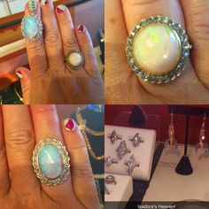 Opal obsession at Isadora's in Seattle