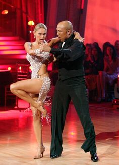 Hines Ward and his partner Kym Johnson dance a Tango, a Salsa and an Instant Cha Cha on week nine of 'Dancing With The Stars.' The judges gave the couple 30 out of 30 for their Argentine Tango and 30 points out of 30 for their Salsa. The couple earned a total of 60 out of 60.