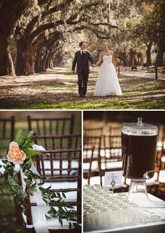 Boone Hall Plantation Weddings | Charleston Weddings | The Wedding Row