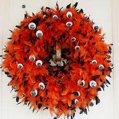 Eyeball wreath