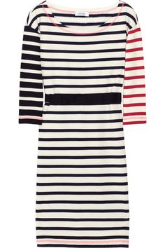 Sonia by Sonia Rykiel  Striped cotton-jersey dress  €185