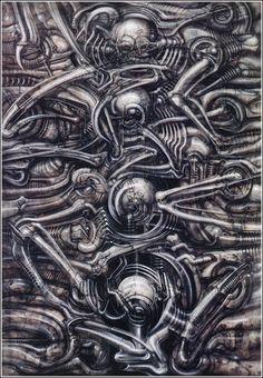 H.R. Giger -- Biomechanical landscape