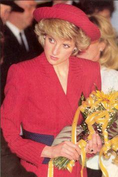Princess Diana in Austria, April 14,1986