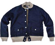 Pensacola Seaplane Jacket by Mister Freedom #denim #vintage