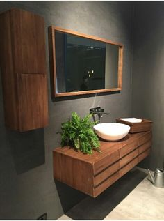 Bathroom Classy Timber Vanity Home Sweet Home Pinterest - Mid century modern bathroom vanity ideas for bathroom decor ideas